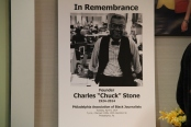 PABJ Members gathered at the CBS Broadcast Center in Philadelphia to honor the legacy of Founder Chuck Stone.